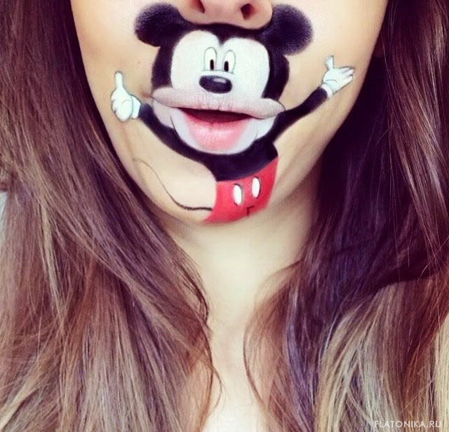 18-lip-art-mickey