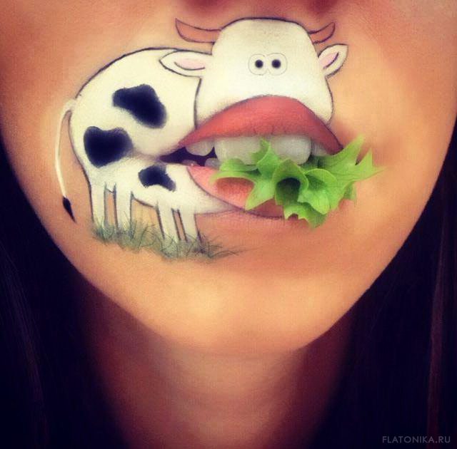 19-lip-art-cow-by-laura