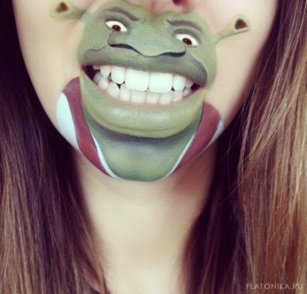 23-lip-art-shrek-disney-by-laura